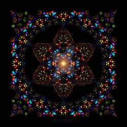 Stained Glass Window - Mandala