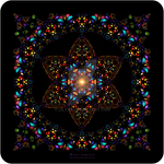 Stained Glass Window - Mandala