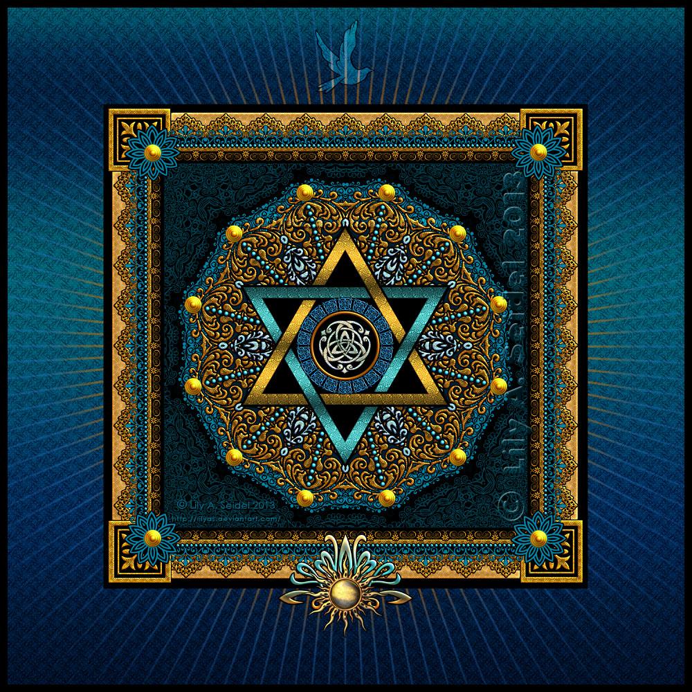 Alchemy - Mandala by Lilyas