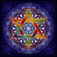 Flower of Life Tetrahedron