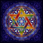 Flower of Life Tetrahedron