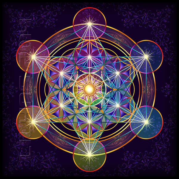 Fruit Of Life Metatrons Cube Ii By Lilyas On Deviantart