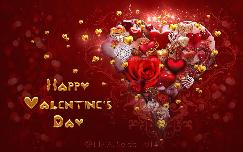 Happy Valentine's Day by Lilyas