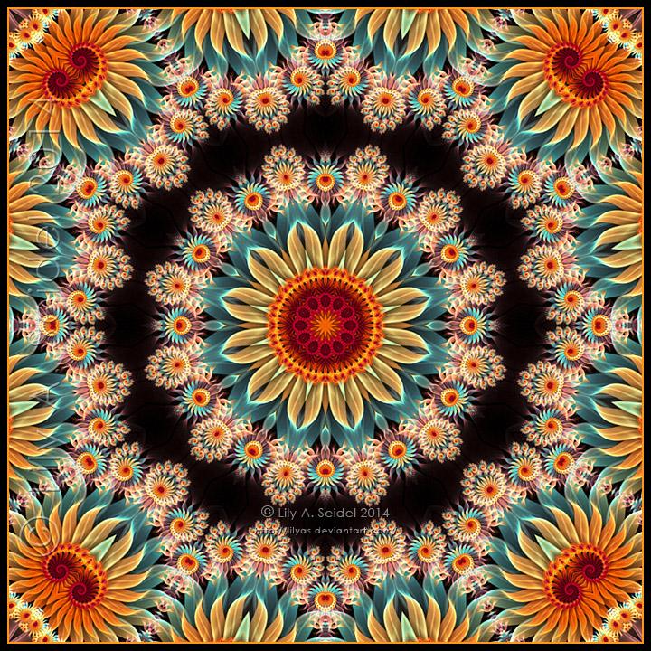 Summer - Mandala by Lilyas