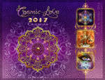 Cosmic Love 2017 Calendar Cover