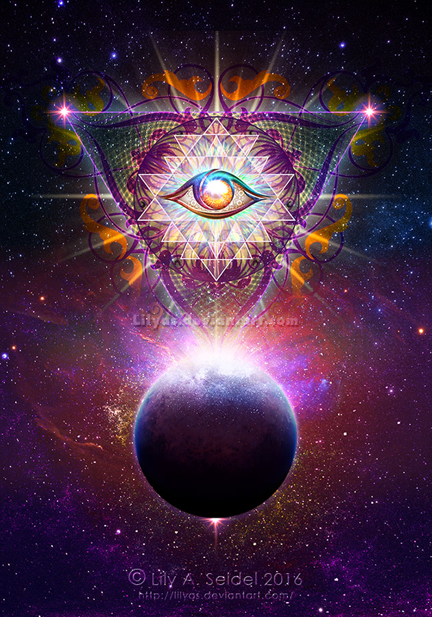 Cosmic Calendar Wallpaper : Cosmic eye by lilyas on deviantart