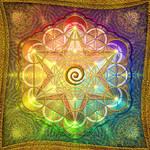 Metatron's Cube Rainbow