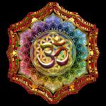 Flower of Life Lotus OM Mandala