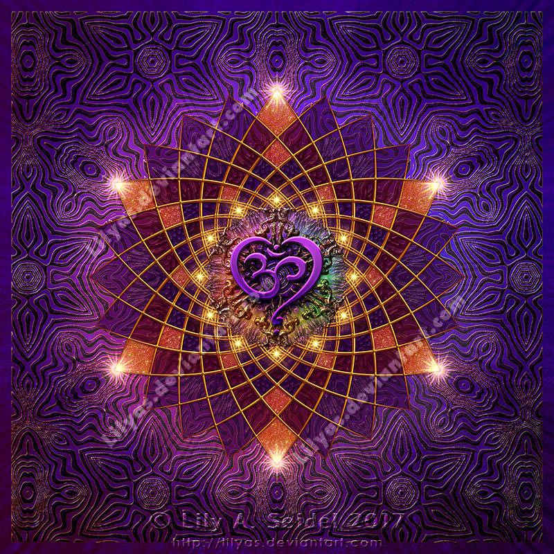 Om Heart Mandala