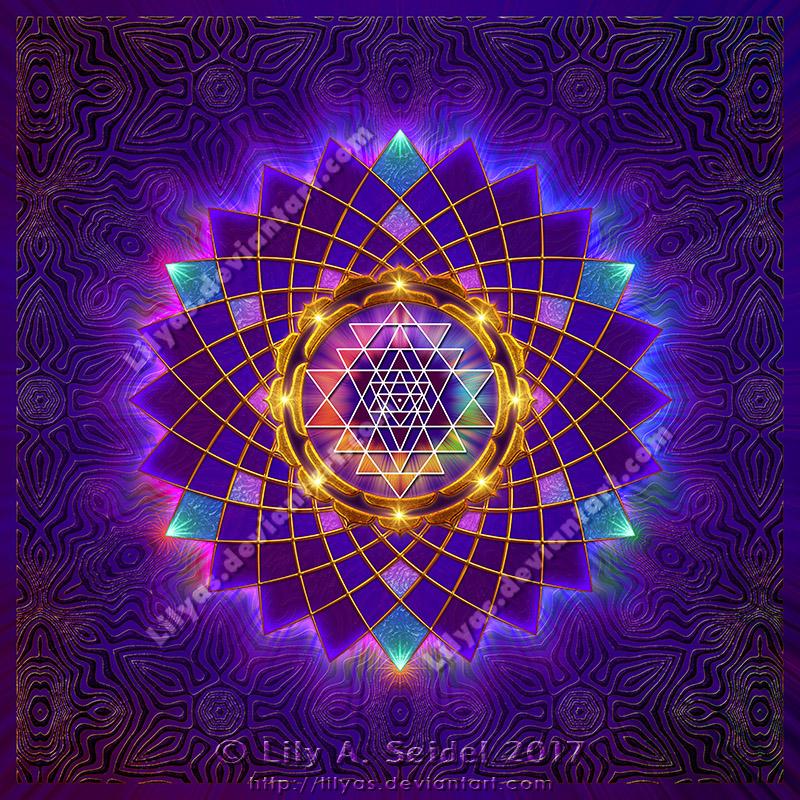 Sri Yantra Mandala by Lilyas ...