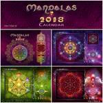 Mandalas Calendar 2018 by Lilyas