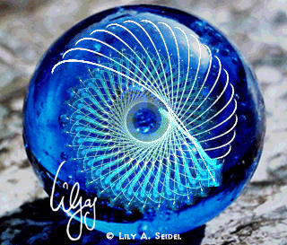 Blue Palantir by Lilyas