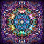 Sunflower Fractal Mandala by Lilyas