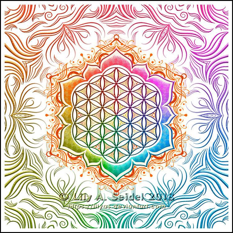 Flower of Life Lotus