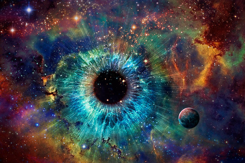 All Seeing Universe - Wallpaper