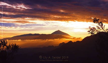 Pico del Teide of Tenerife by Lilyas