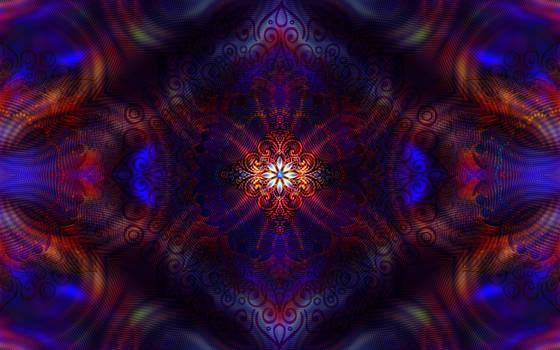 Mandala Flower Wallpaper