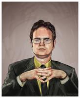 Dwight Schrute by SoftSpirit118