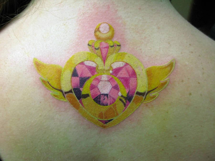 My first Sailor Moon tattoo by Mickeybabz
