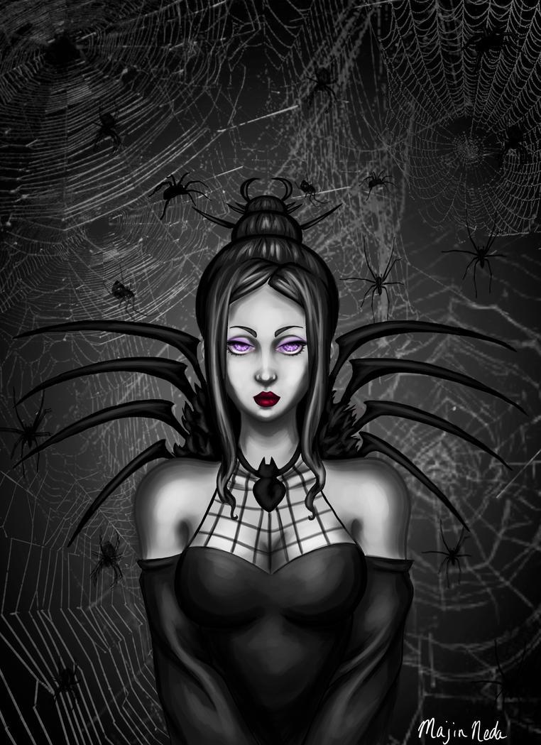 Arachne-Soul Eater by MajinNeda