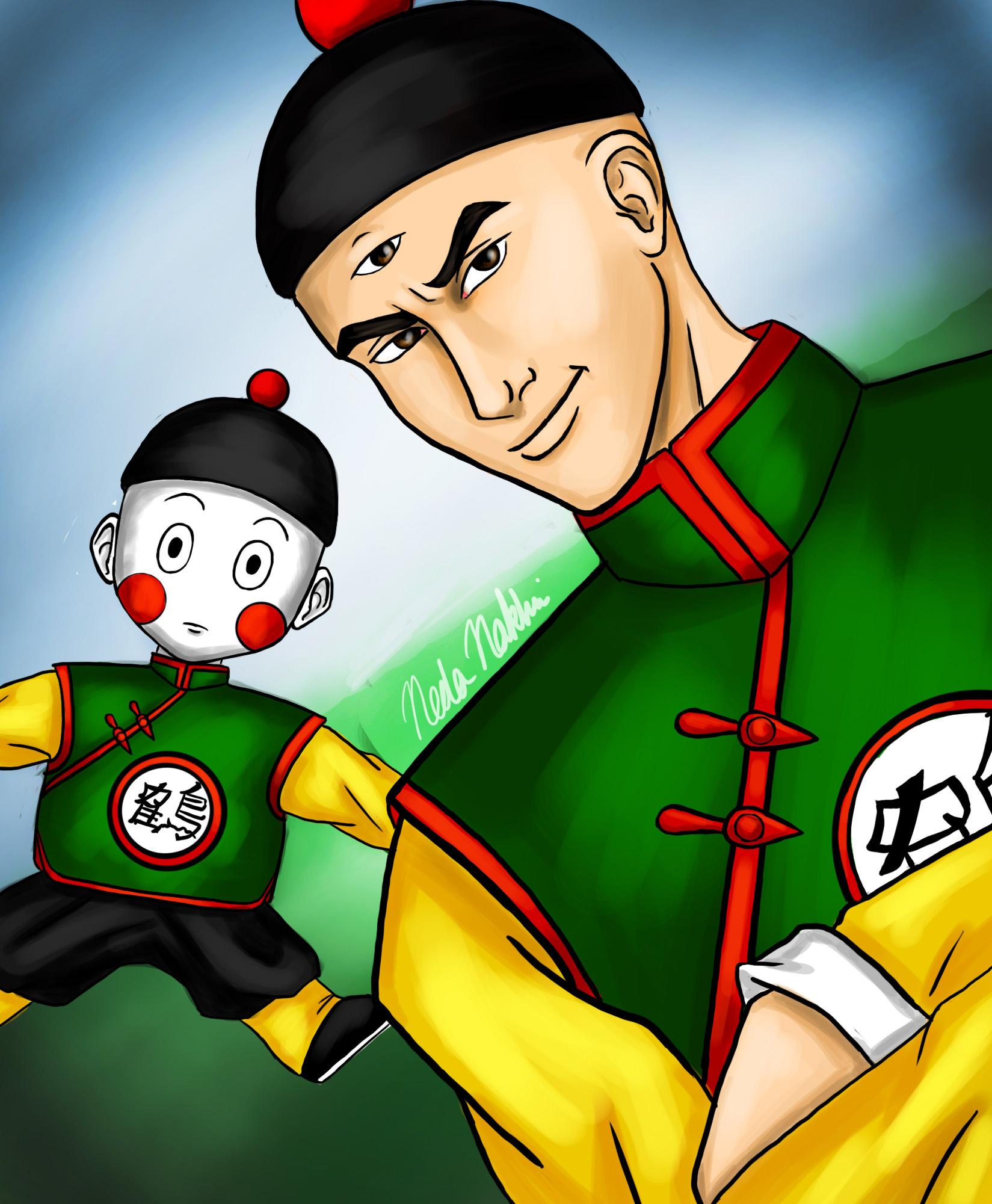 Tien Shinhan And Chiaotzu By Majinneda On Deviantart