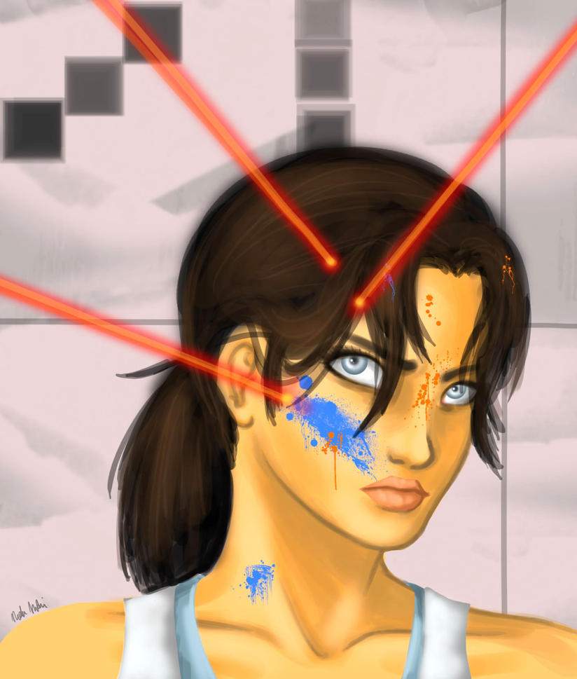 Chell Gel by MajinNeda