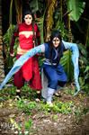 P'li and Ming Hua cosplay