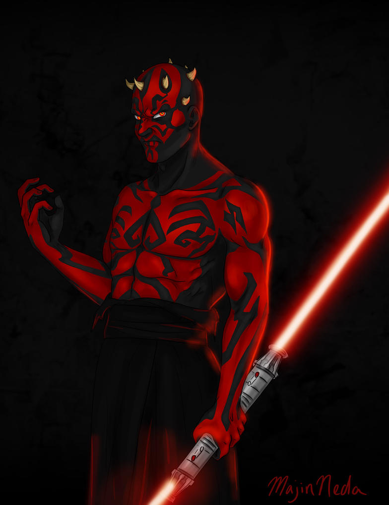 Darth Maul by MajinNeda