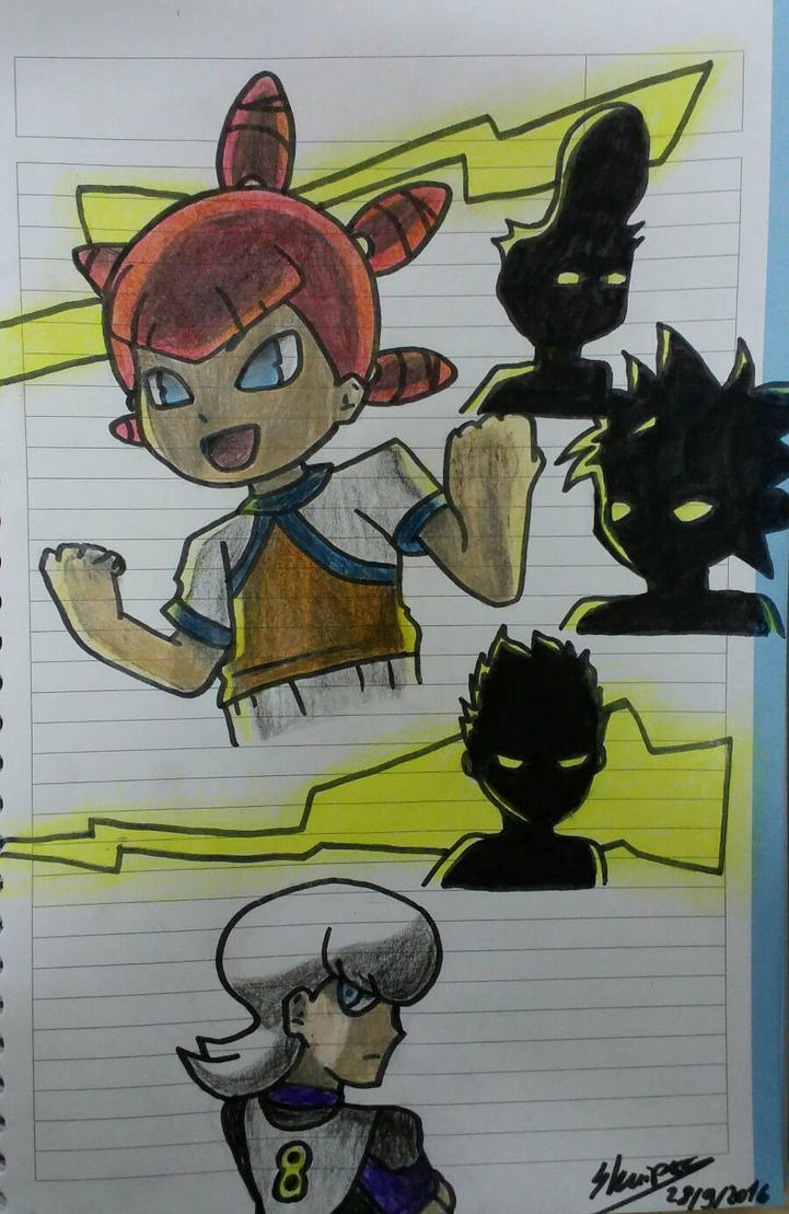 Inazuma Eleven Go  Unlimited Shining.Ancient Dark  by OtakuGurlLady