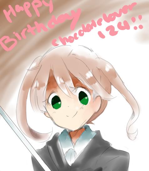Happy Birthday Chocolatelover124! by Baka1999