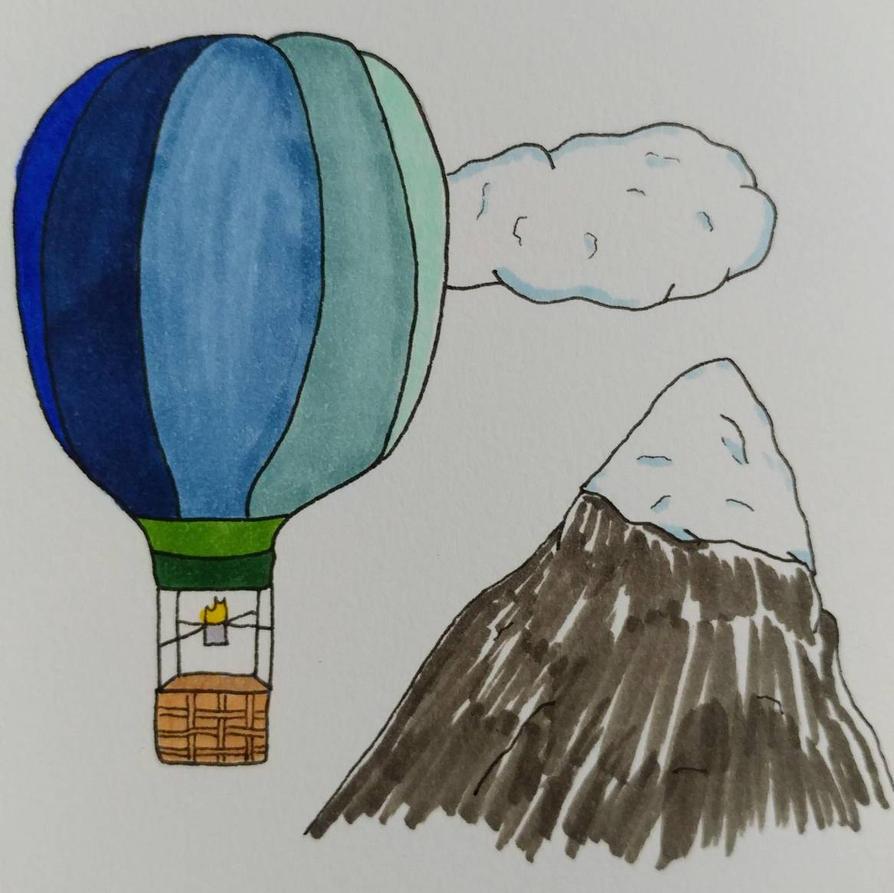Hot Air Balloon by shadowIreaper