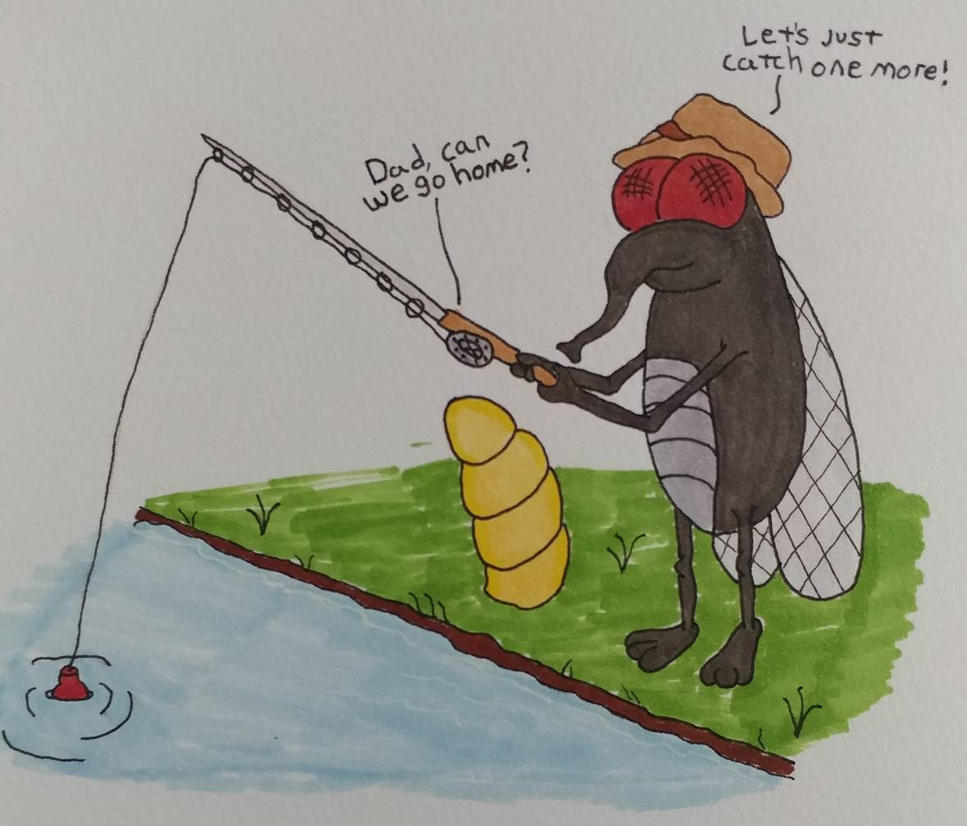Fly Fishing  by shadowIreaper