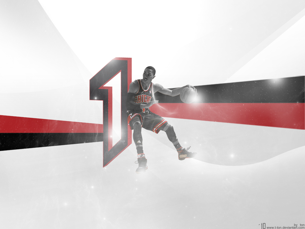 Derrick Rose Wallpaper 1 By T Ton