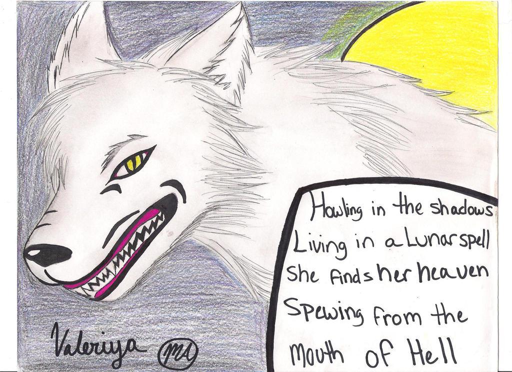 Bark at the Moon by MidoriArainai