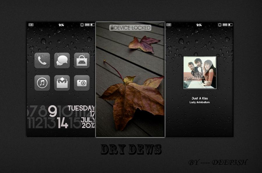 DRY DEWS by deep3sh