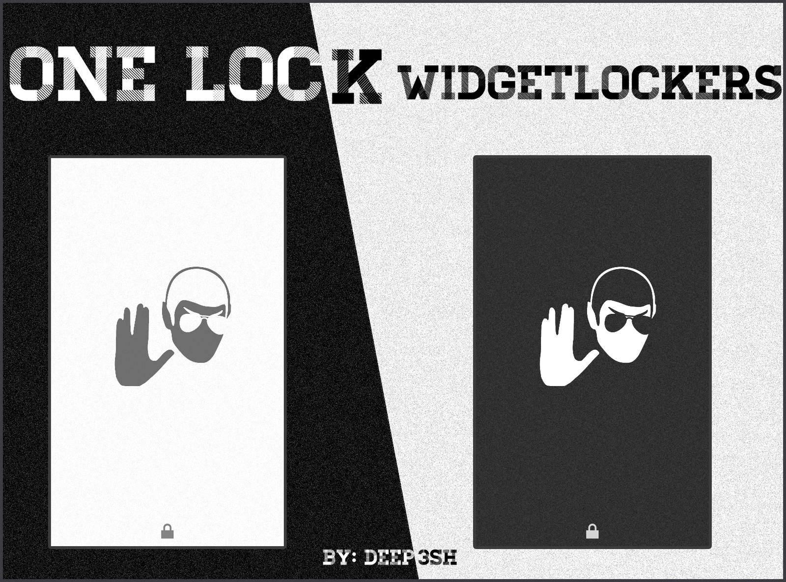 one lock widgetlocker sliders by deep3sh