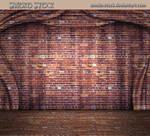 Brick Stage Curtain by Smoko-Stock
