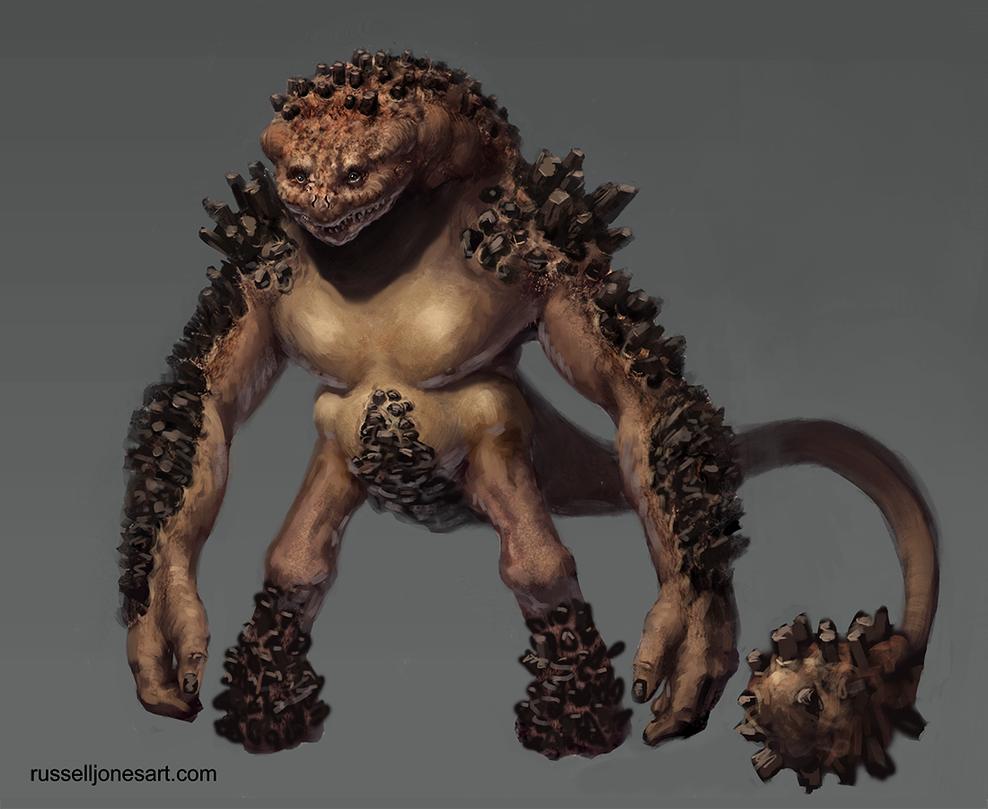 Rock Creature by Jones0da