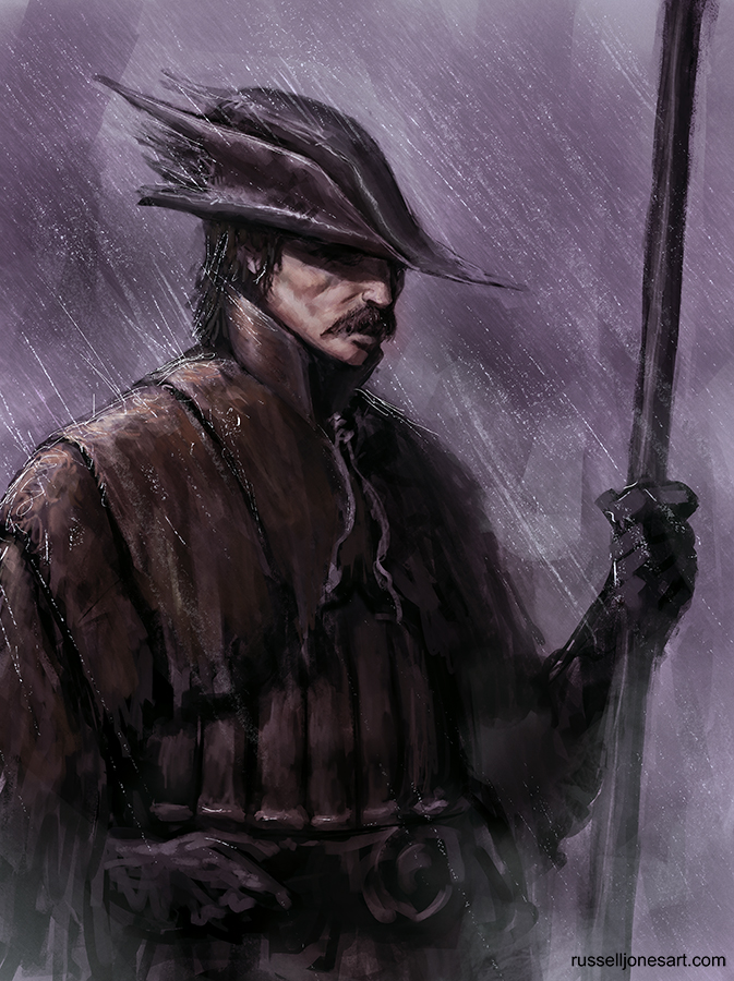 Bloodborne Hunter Sketch by Jones0da