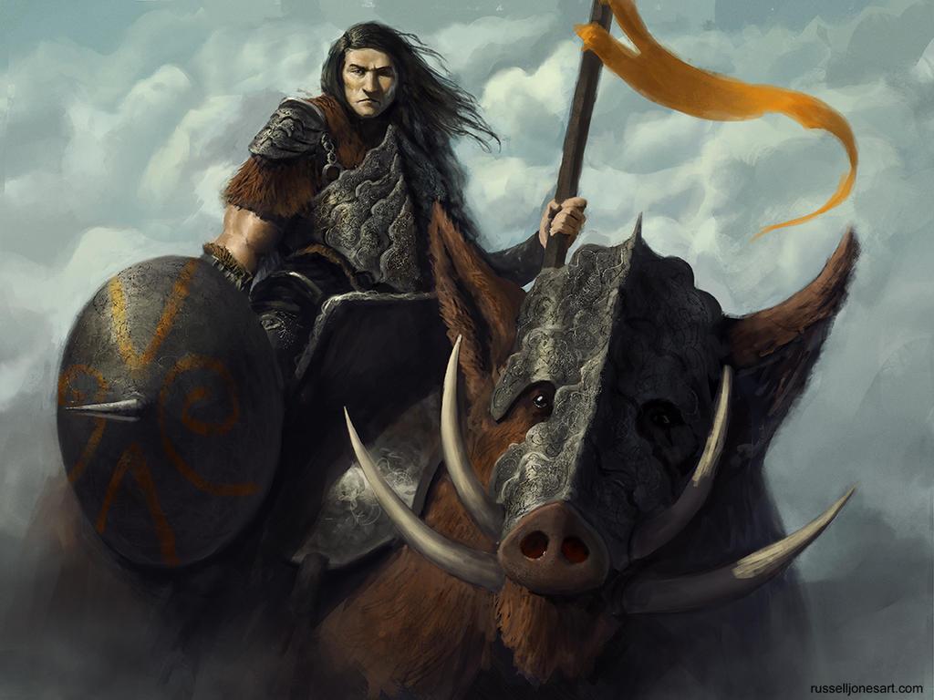 Boar Rider! by Jones0da