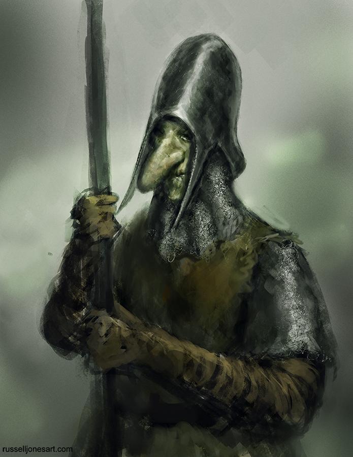 Undead goblin warmup sketch by Jones0da