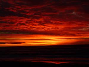 Sunset Greymouth