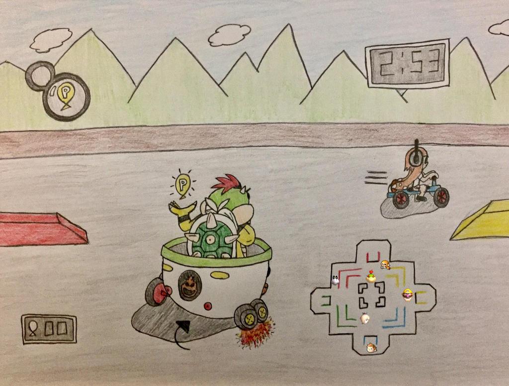 P Balloon: P-Balloons In Mario Kart 8 Deluxe? (1/2) By