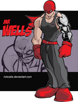 OC Rick Celis - Mr Wells color