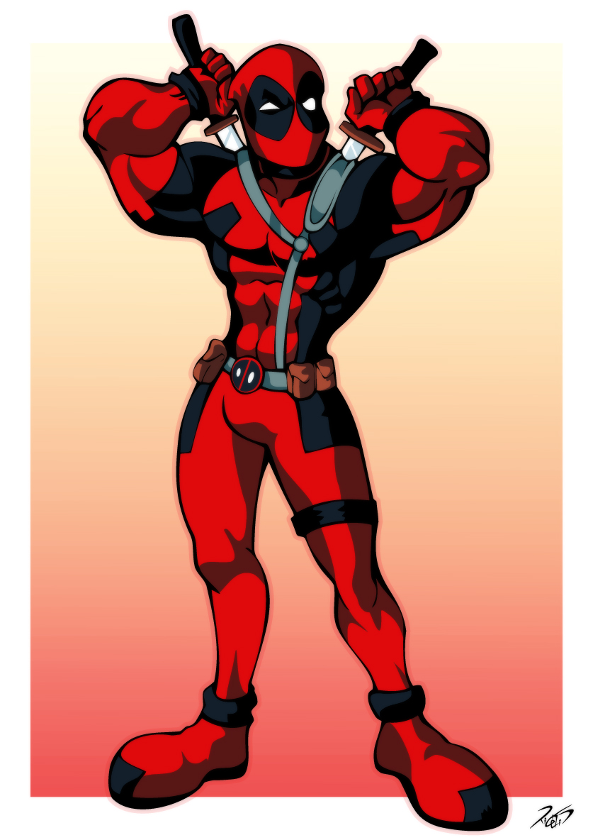 Deadpool by RickCelis