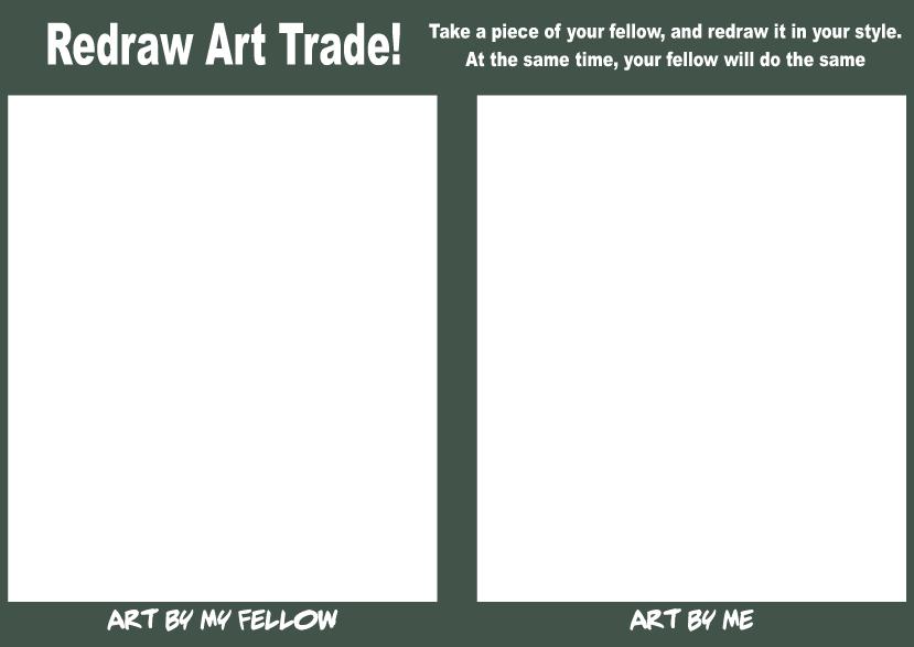 Redraw Art Trade by RickCelis