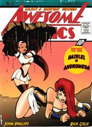 Andromeda vs Hazelel by RickCelis