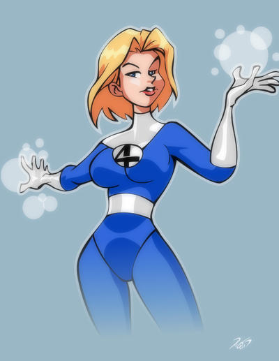Invisible Woman by RickCelis