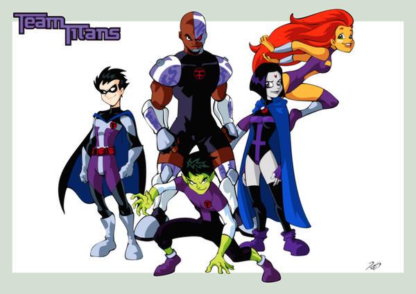 Team Titans by RickCelis