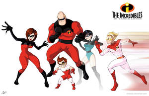 The Incredibles 10 years later